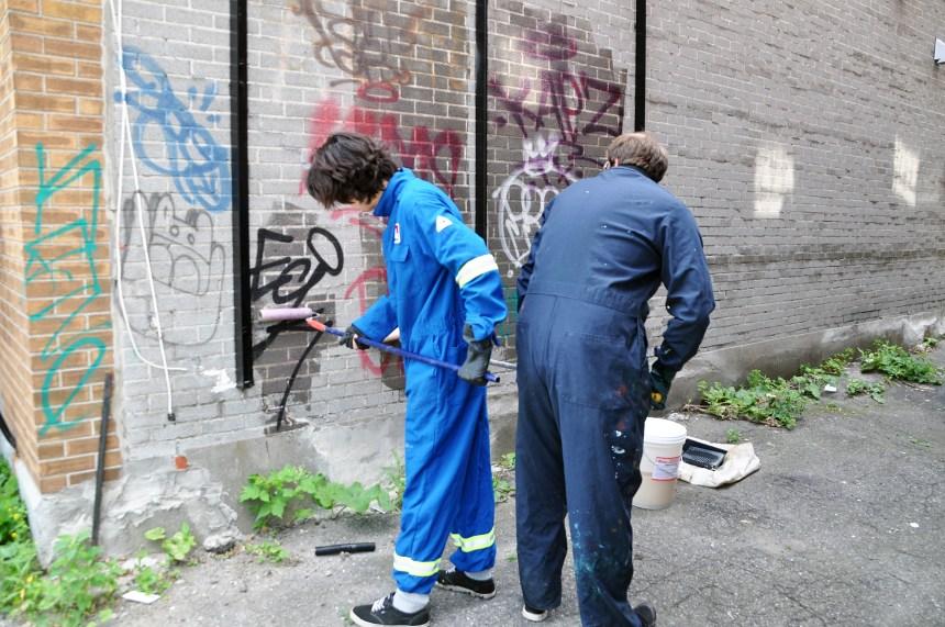 Des graffitis qui coûtent cher sur le Plateau