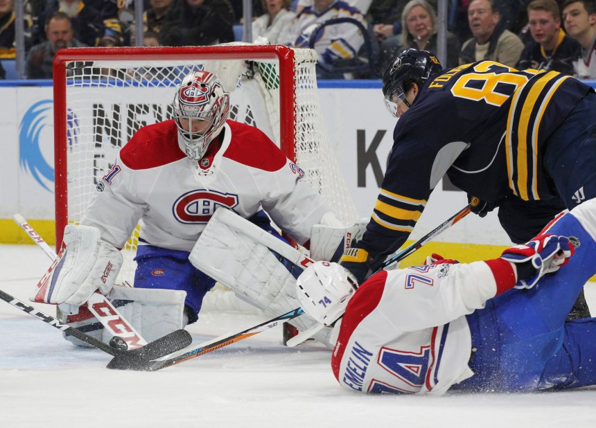 Le Canadien perd 2-1 face aux Sabres