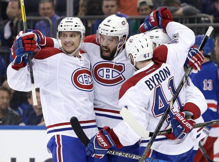 Le Canadien gagne 3-1 chez les Rangers et prend les commandes de la série