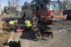 Enfant blessé dans un accident à L'Île-des-Soeurs