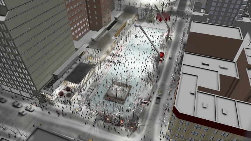 [PHOTOS] Esplanade Clark: les plans dévoilés