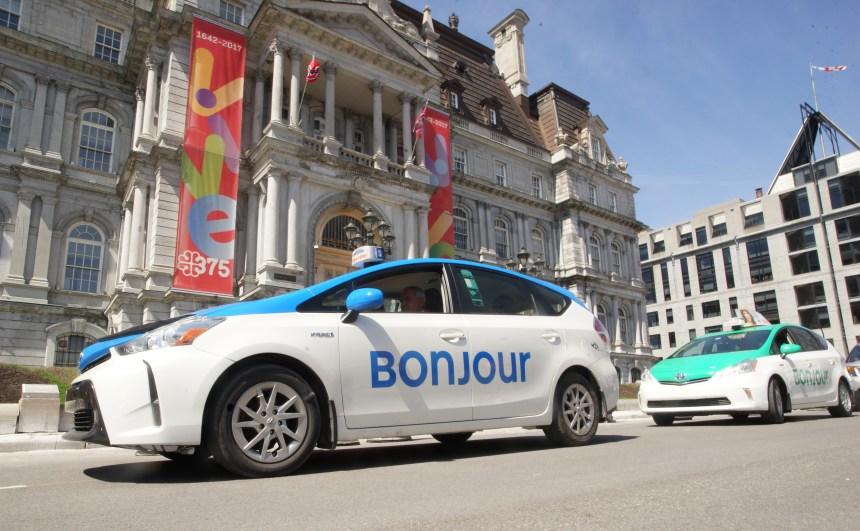 Une nouvelle image pour les taxis de Montréal