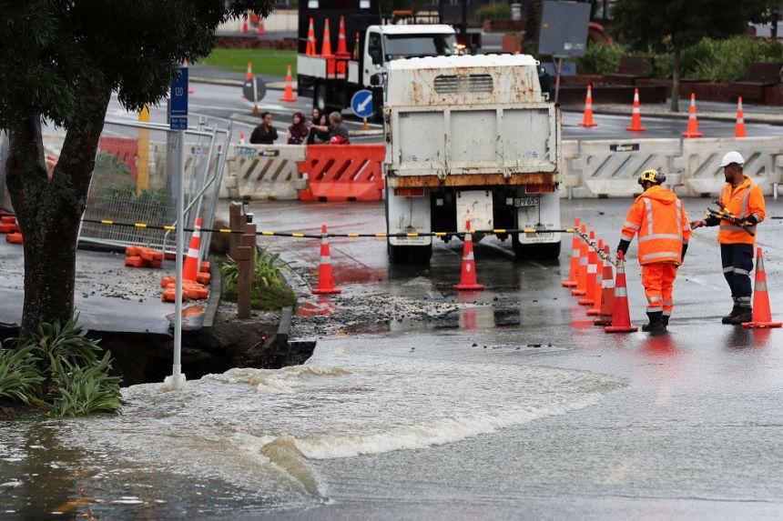 [PHOTOS] Cyclone Debbie: 2000 résidants évacués en Nouvelle-Zélande