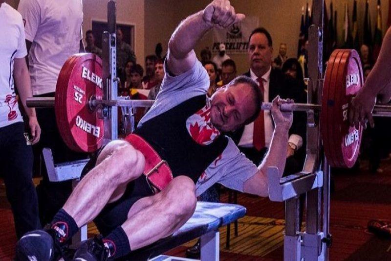 Rémi Fortier confirme son record mondial au développé couché