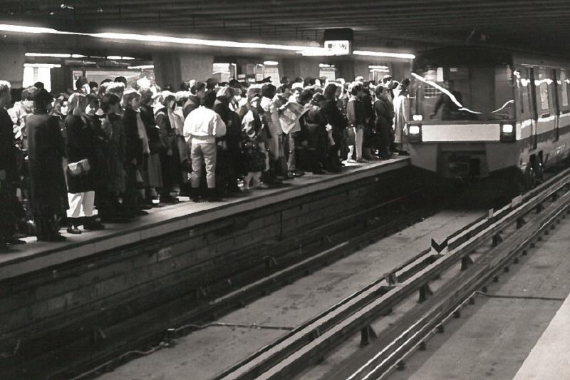 Il y a 50 ans, la ligne jaune du métro accueillait ses premiers passagers
