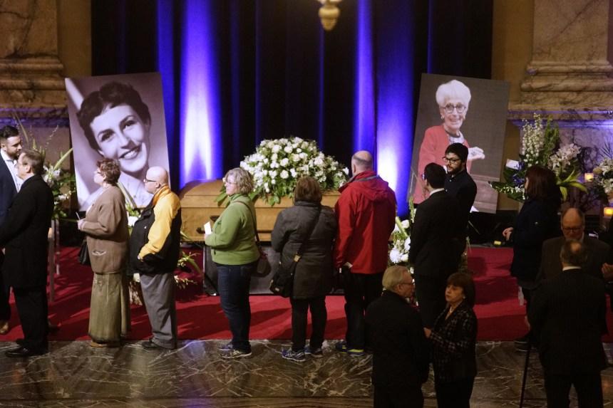 Les funérailles de Janine Sutto aujourd'hui à Outremont
