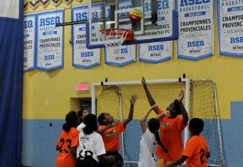 Les étoiles du mini-basketball attendues dans l'est de Montréal