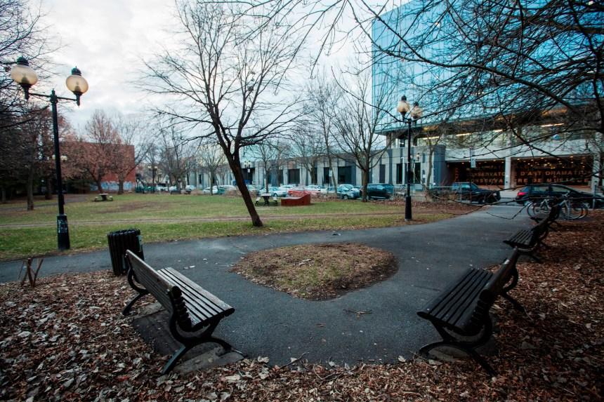 Le parc Villeneuve renommé en l'honneur des fondatrices du Théâtre du Rideau Vert