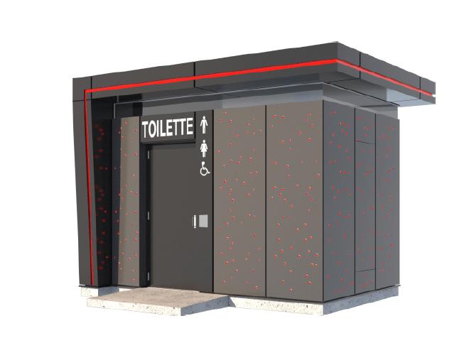 Les controversées toilettes autonettoyantes opérationnelles en mai