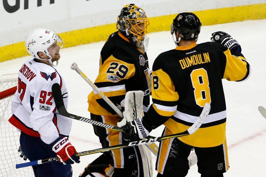 Même sans Crosby, les Penguins proches de la finale de l'Est