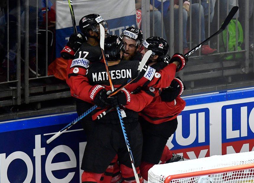 Le Canada renverse la Russie 4-2 au Mondial