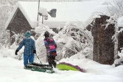 [PHOTOS] Une tempête de 80 cm de neige s'abat sur le Colorado