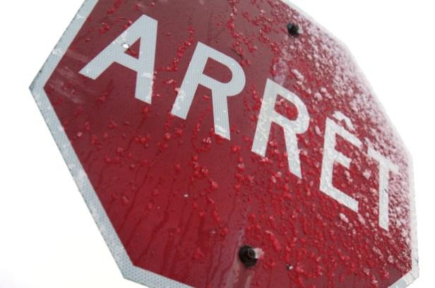 Projet pilote: ajout d'arrêts obligatoires à cinq intersections