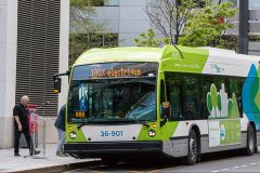 STM: un premier bus électrique «à grande autonomie» arrive à Montréal