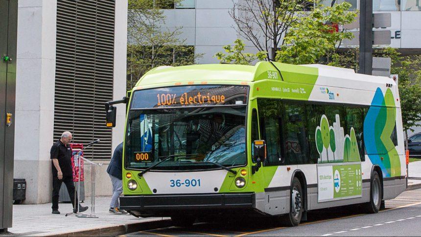 Les autobus 100% électriques de la STM accessibles aux usagers