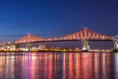 Un prix pour l'illumination du pont Jacques-Cartier