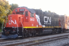 Un train de marchandises du CN déraille à L'Assomption sans trop de dommages