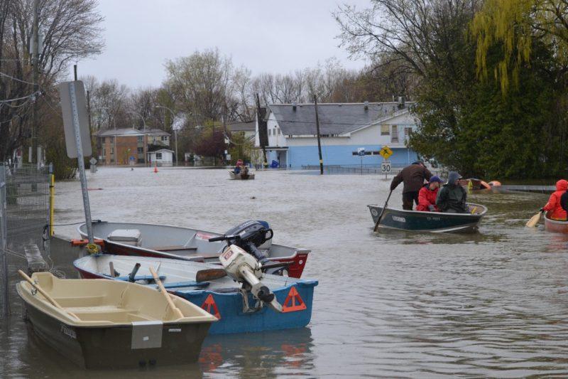 Outaouais: le niveau de l'eau maximum aurait été atteint