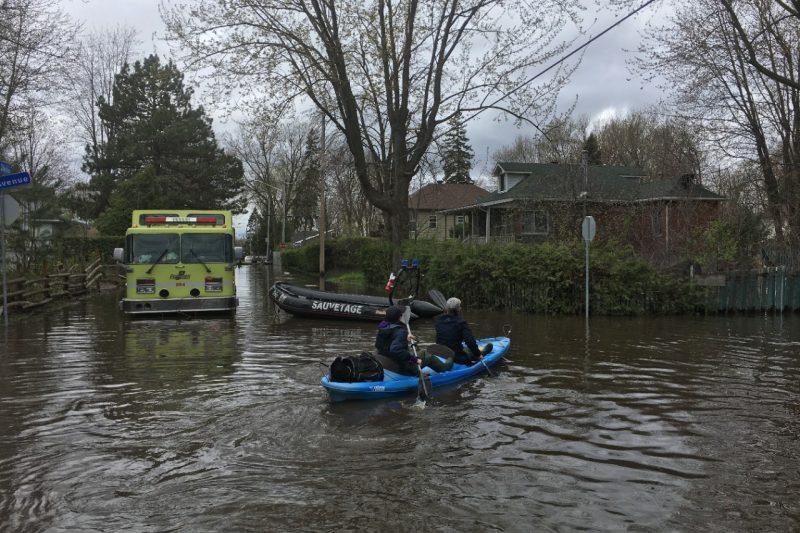 Légère hausse du nombre d'évacués à Laval