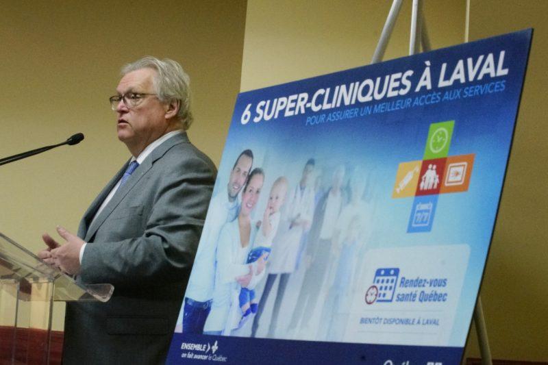 Six super-cliniques s'implantent à Laval