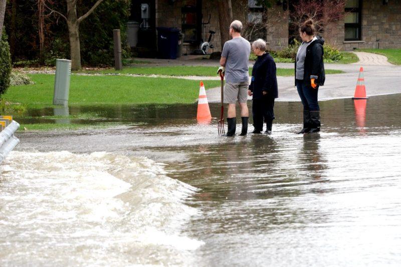 Inondations à Laval: trois secteurs sous haute surveillance