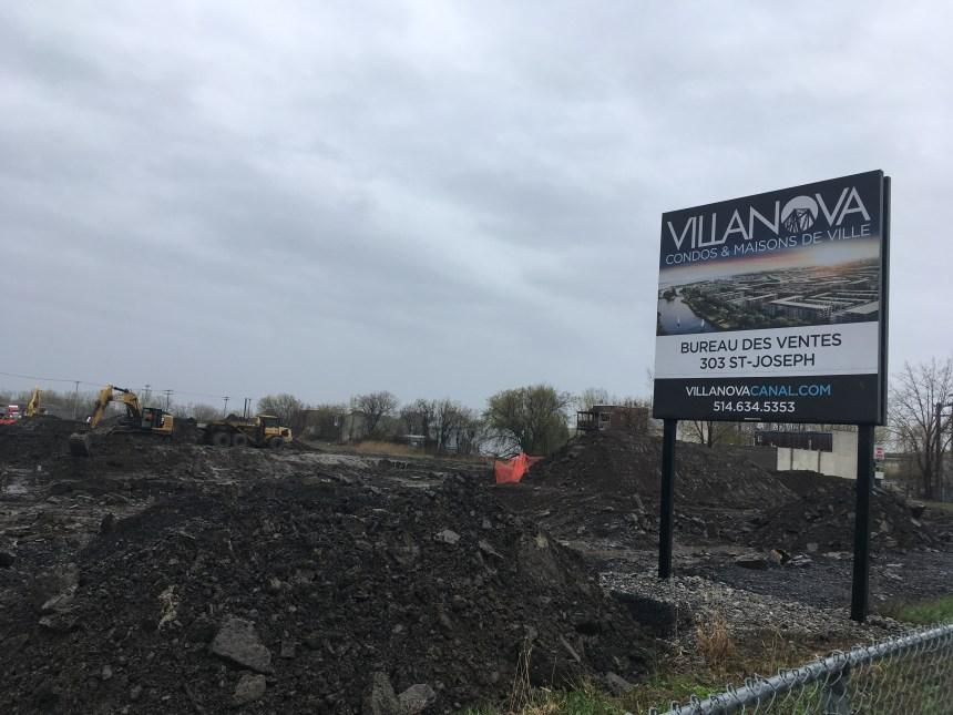 Lachine: décontamination du site de VillaNova