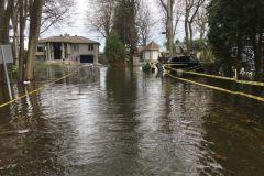 Nouvelle crue des eaux à L'Île-Bizard