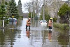 Inondations: des experts favorables au déménagement forcé de certains riverains