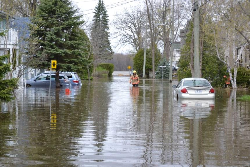 Saint-Laurent aide les sinistrés des inondations
