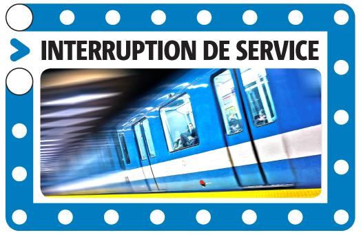 Une panne d'électricité paralyse la ligne bleue du métro