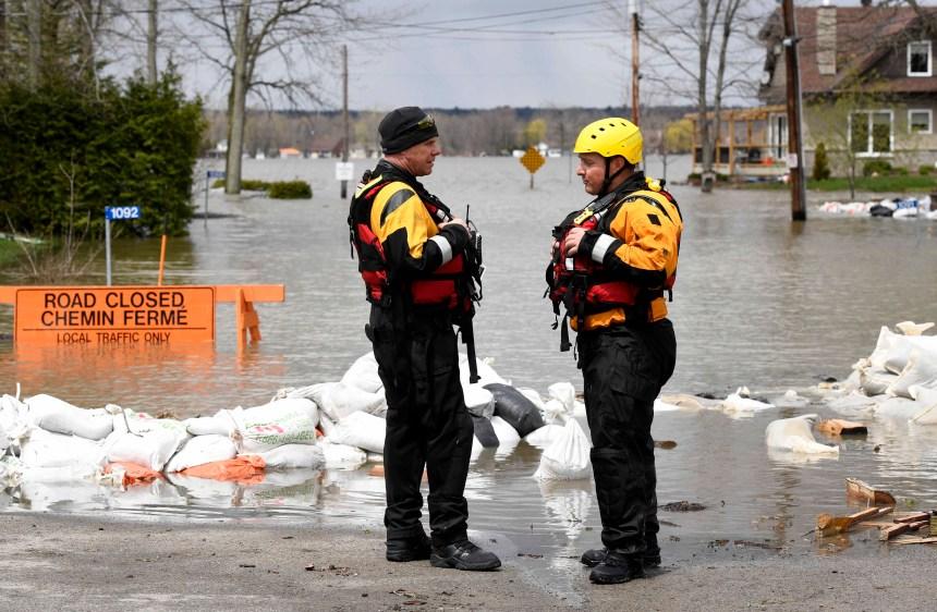 Inondations: des ennuis sur les routes