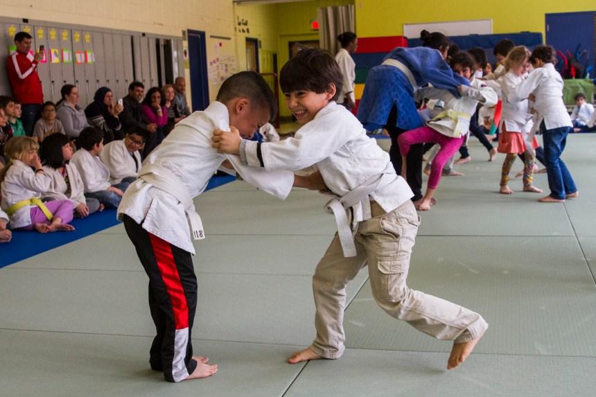 De plus en plus de petits judokas