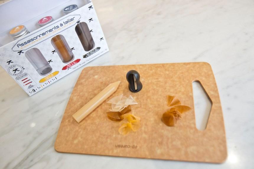Verdun: une entreprise crée des crayons à cuisiner