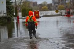 Inondations: «Le pire est à venir» à Montréal