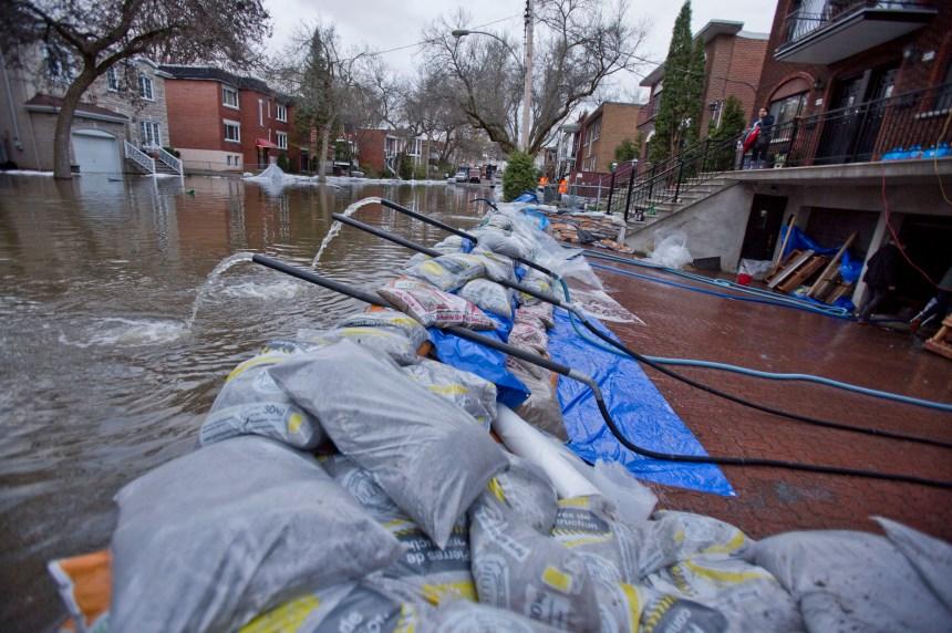 Inondations: Montréal décrète l'état d'urgence