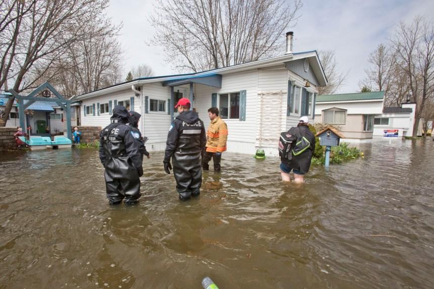La cartographie et une appli pour limiter les dommages des crues à Montréal