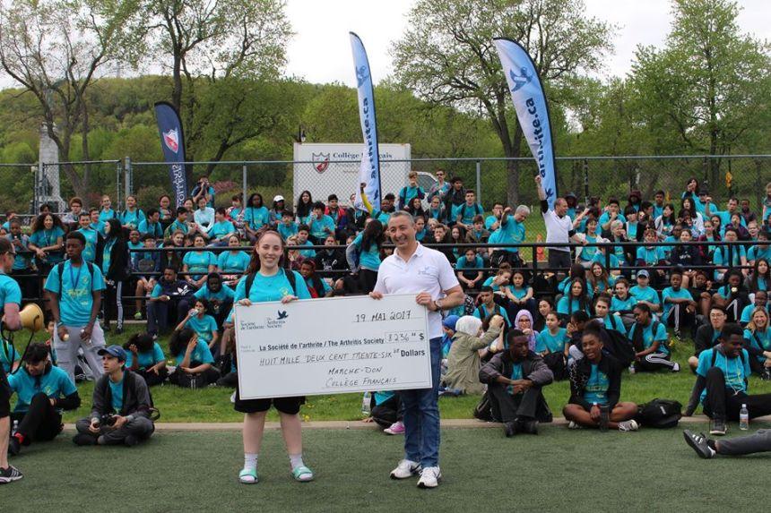 Plus de 8000 $ pour les enfants atteints d'arthrite