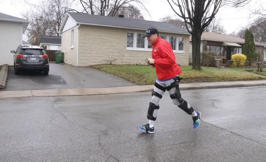 Malade, il court à nouveau grâce à un exosquelette robotisé