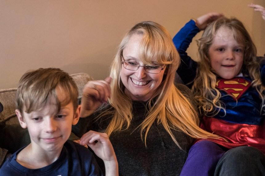 Une maman verdunoise élève huit enfants dans une famille reconstituée