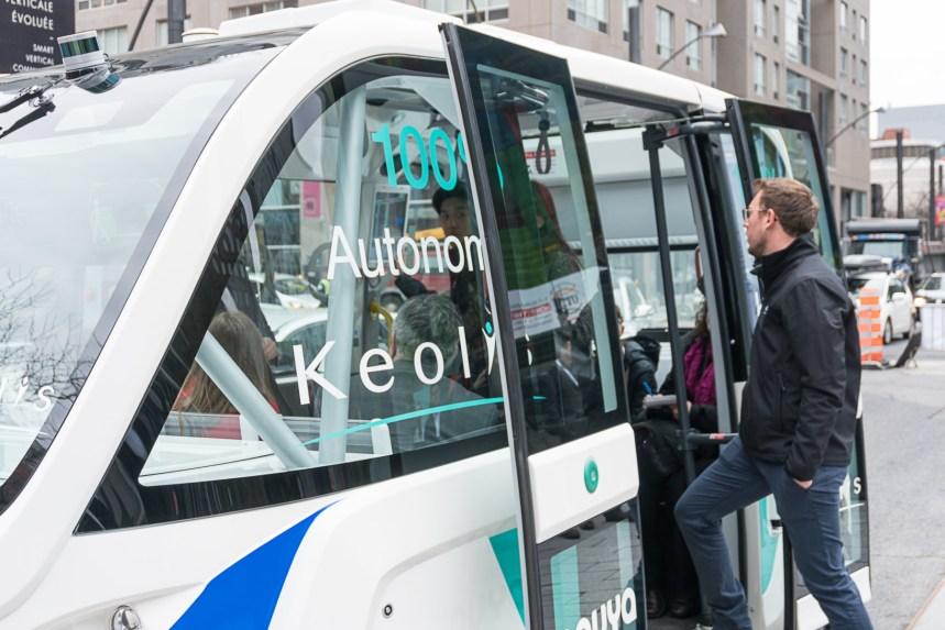 Un comité de travail sur les véhicules autonomes réclamé à Montréal