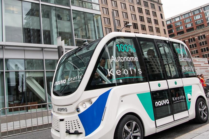 Les promoteurs de la voiture autonome à la conquête de Montréal