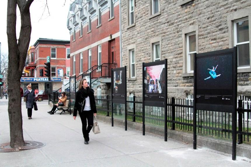 Les meilleures photos de presse du Québec sur l'Avenue Mont-Royal