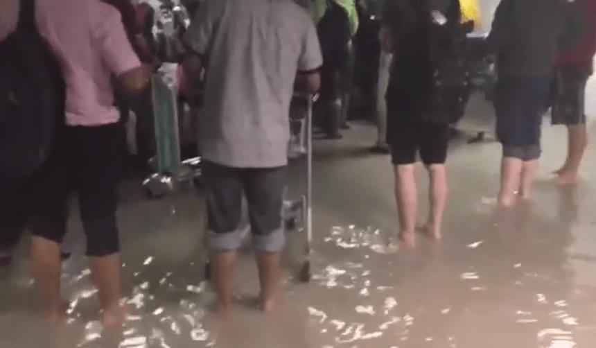 L'aéroport international d'Haïti inondé en raison des pluies