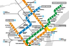 Métro de Montréal: rétablissement du service