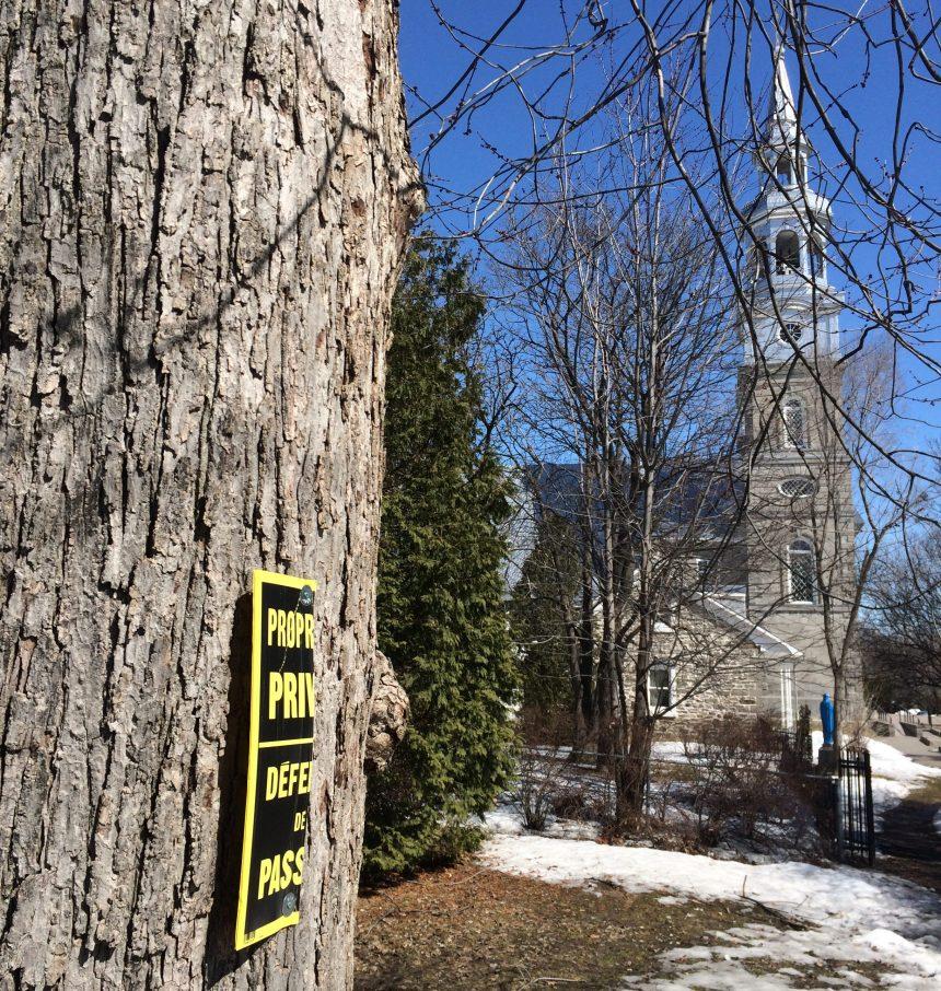 Une pétition pour qu'un terrain patrimonial intègre le domaine public