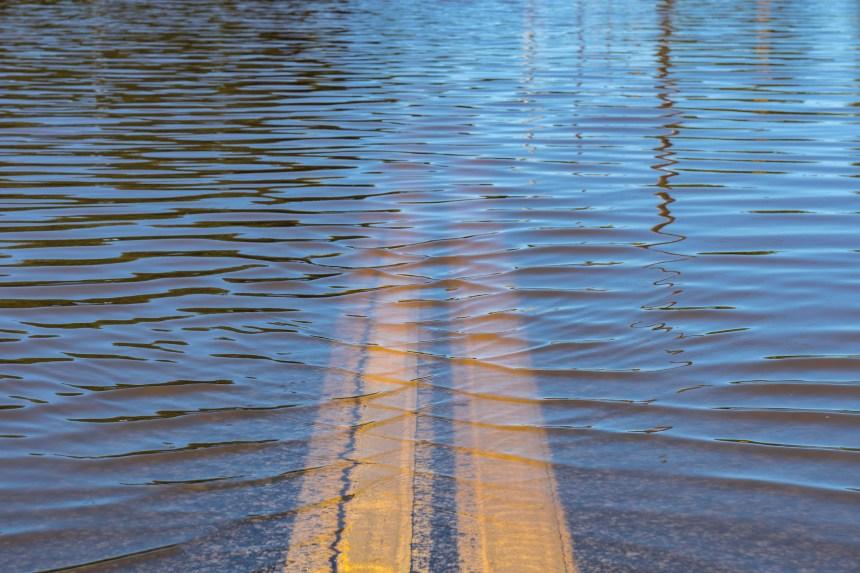 La pluie rend plusieurs rivières menaçantes