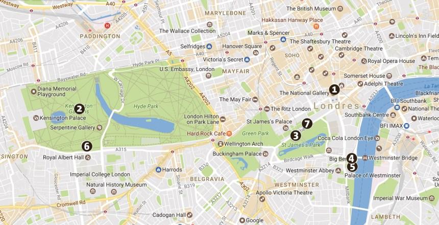 Les hauts lieux de la monarchie à Londres