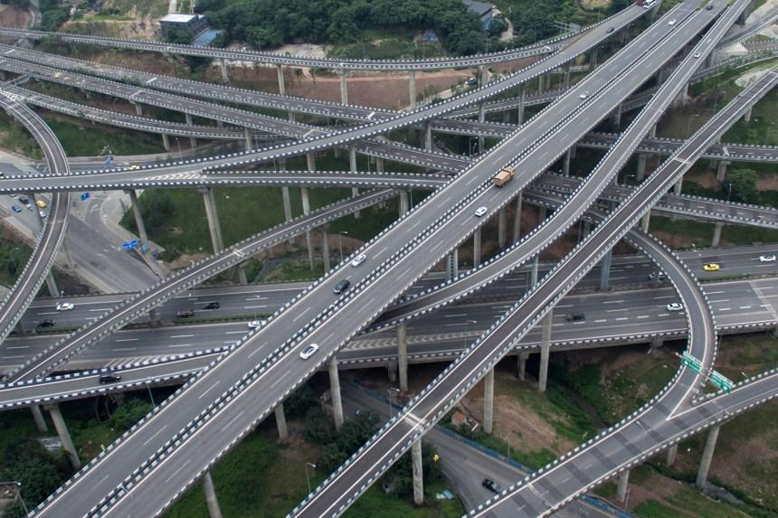 L'échangeur qui affole les automobilistes chinois
