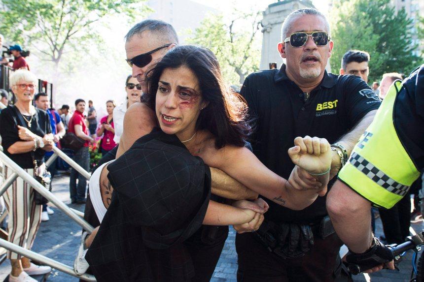 Grand Prix du Canada: une Femen arrêtée lors d'un rassemblement