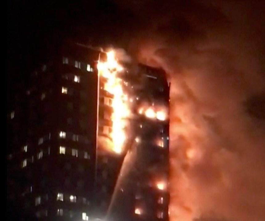 Pas de risques d'incendie comme celui de Londres au Québec